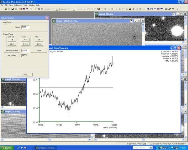 KLA Tencor Candela CS-20-Surface Analyzer Image 52