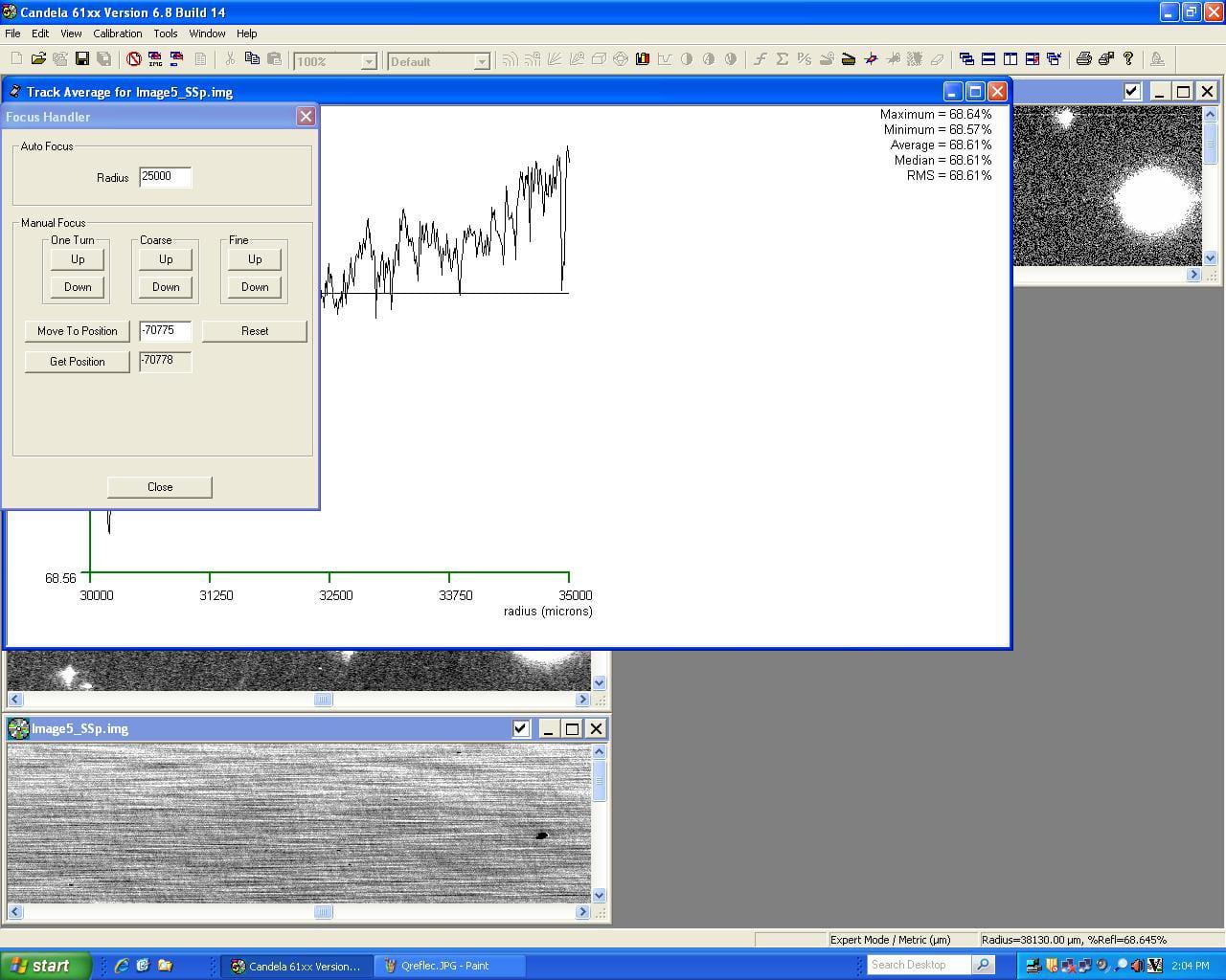 KLA Tencor Candela CS-20-Surface Analyzer Image 53