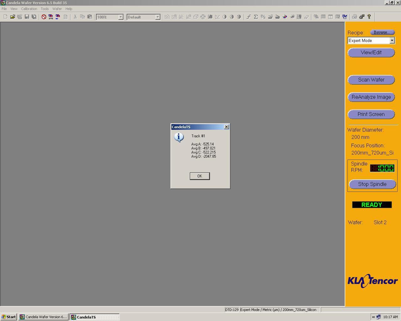KLA Tencor Candela CS-20-Surface Analyzer Image 48