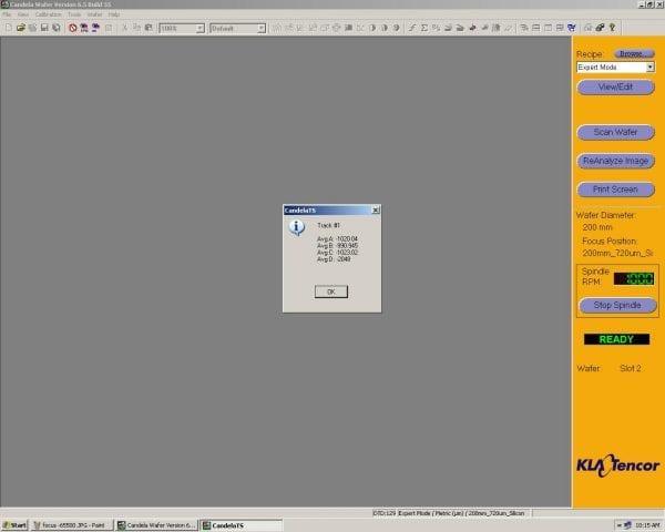 KLA Tencor Candela CS-20-Surface Analyzer Image 47