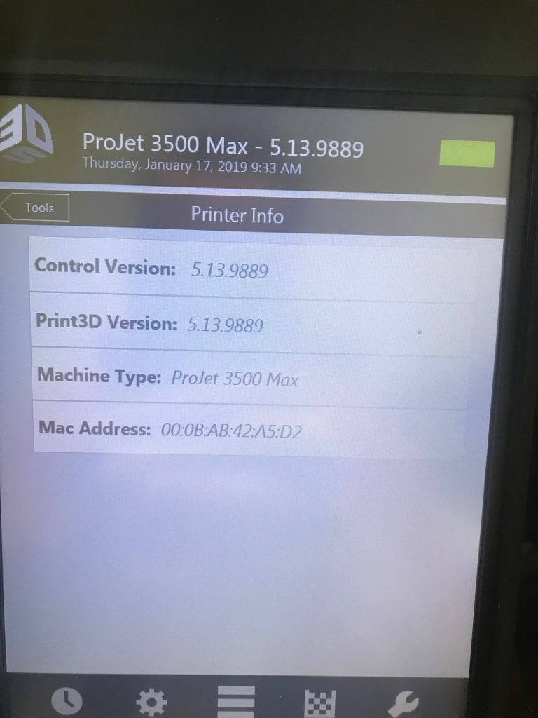 Buy ProJet  3500 HD Max  3D Printer  58858 Online