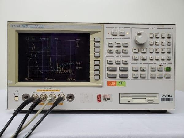 Agilent 4294A Precision Impedance Analyzer 40Hz-110MHz -58701 For Sale