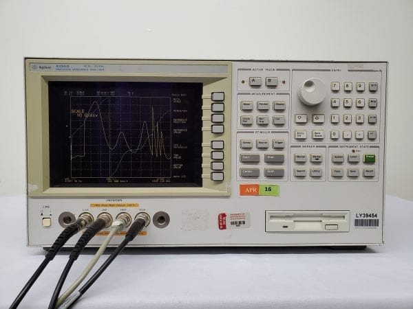 Buy Agilent 4294A Precision Impedance Analyzer 40Hz-110MHz -58701 Online