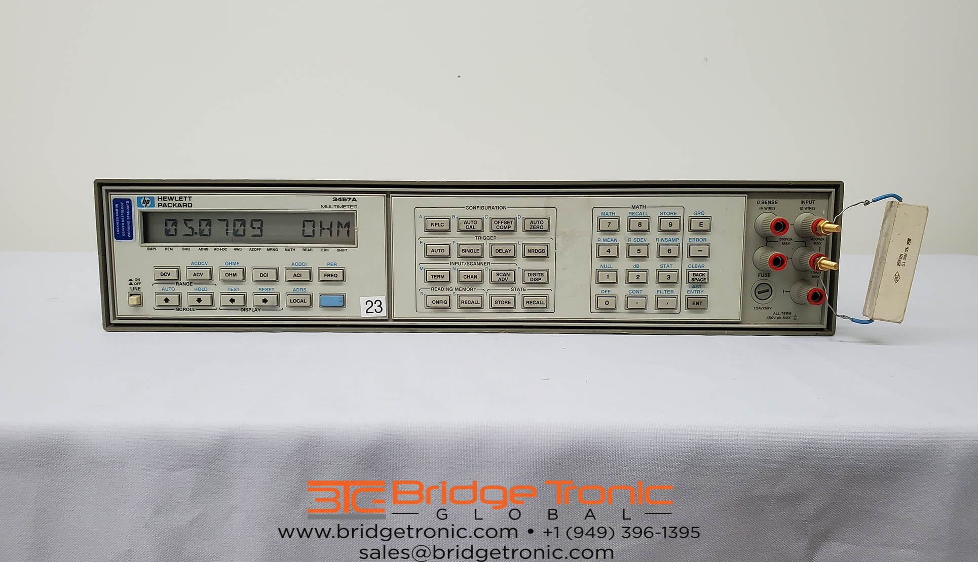 Buy Agilent-3457 A-6.5 digit Multimeter DMM-58853