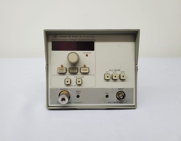 Agilent-83595 A-RF Plug-in-59642 For Sale