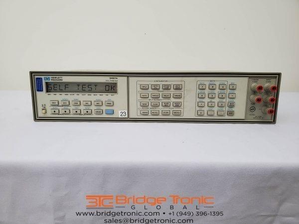 Agilent-3457 A-6.5 digit Multimeter DMM-58853 For Sale