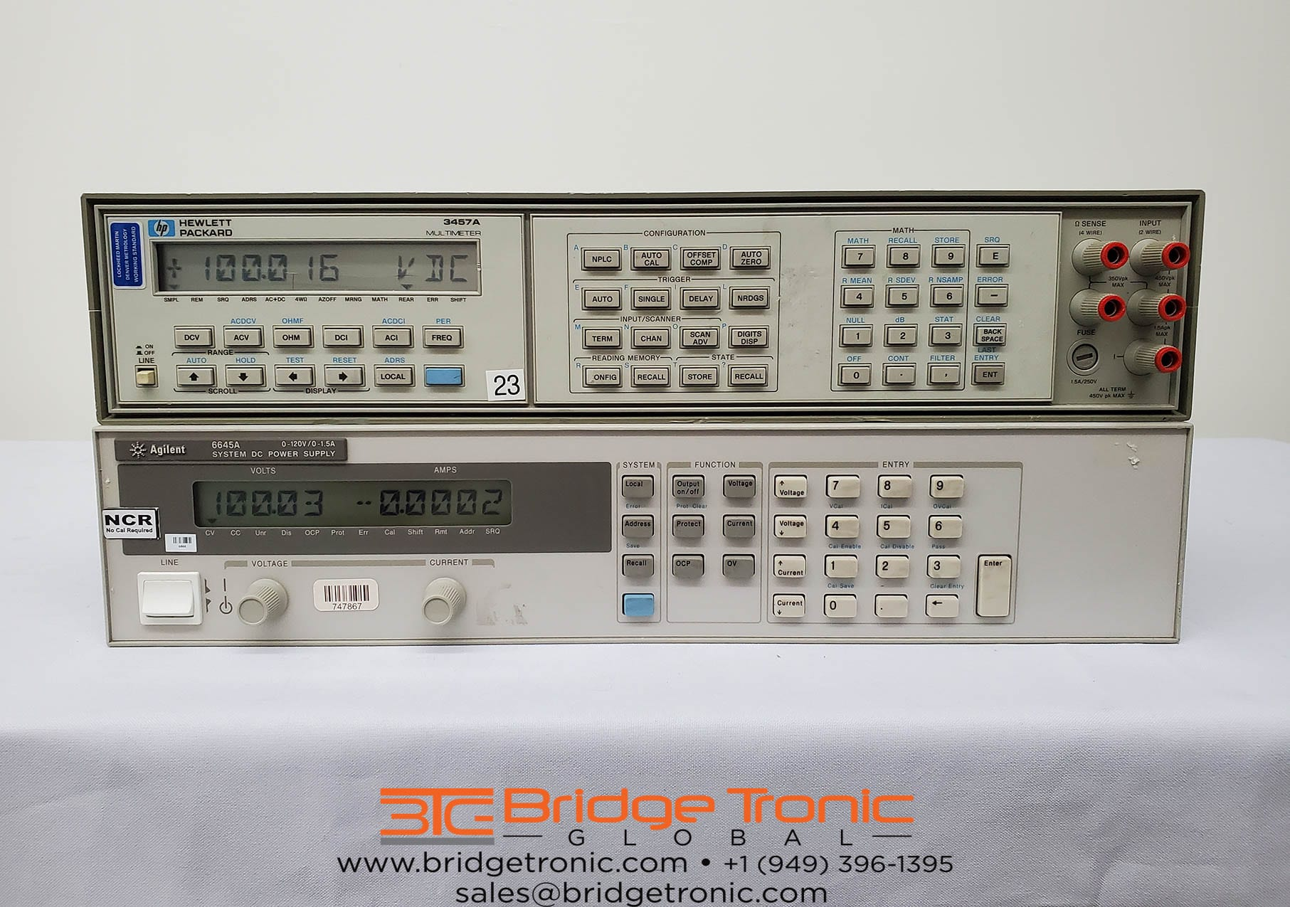Buy Agilent-3457 A-6.5 digit Multimeter DMM-58853 Online