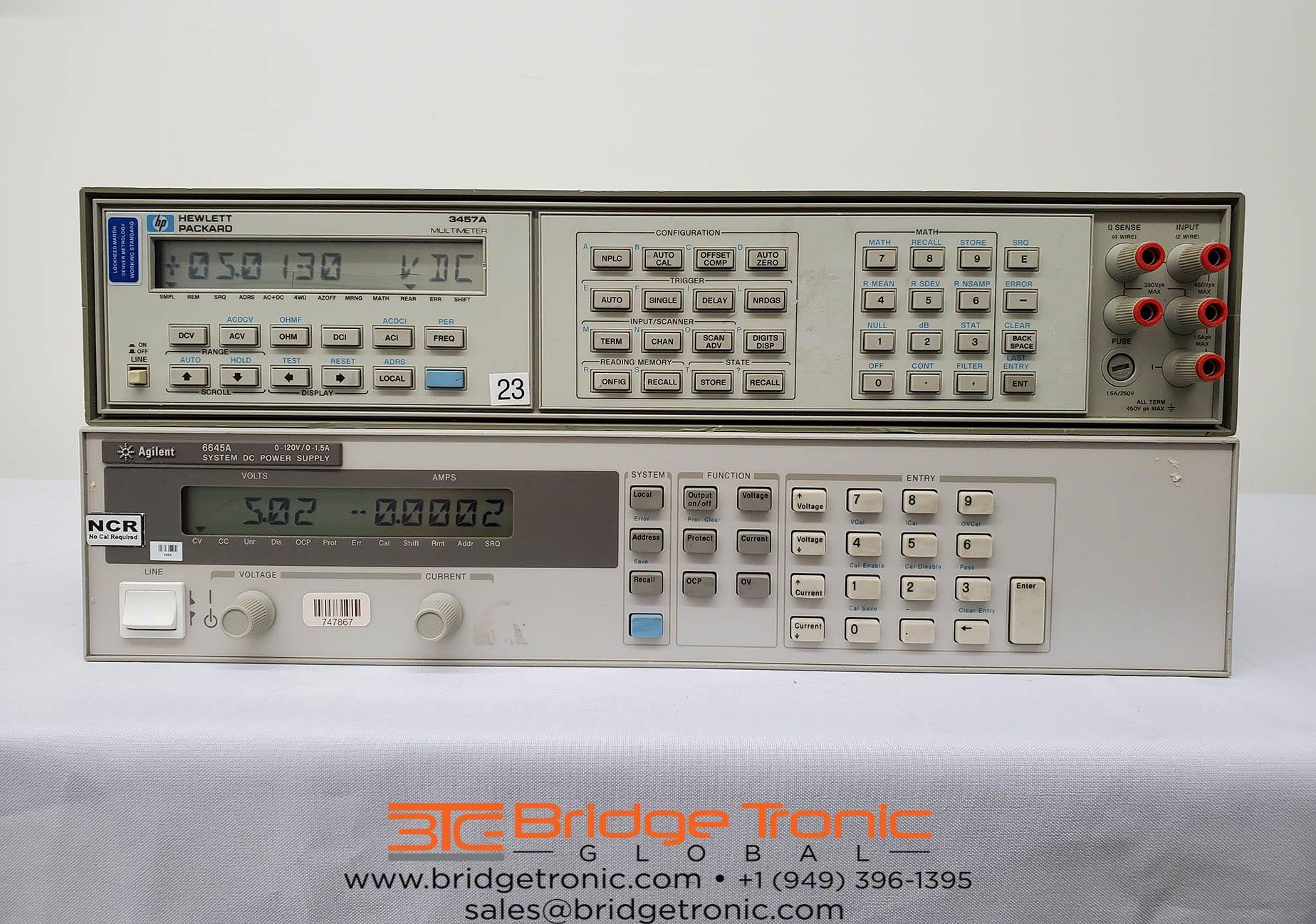 Buy Online Agilent-3457 A-6.5 digit Multimeter DMM-58853