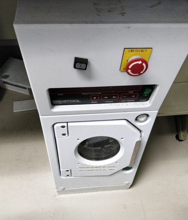 Buy Semitool-240 S-3-1-E-ML-Spin Rinse Dryer-58620