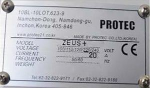 Protec Zeus + Dispenser 60046 For Sale