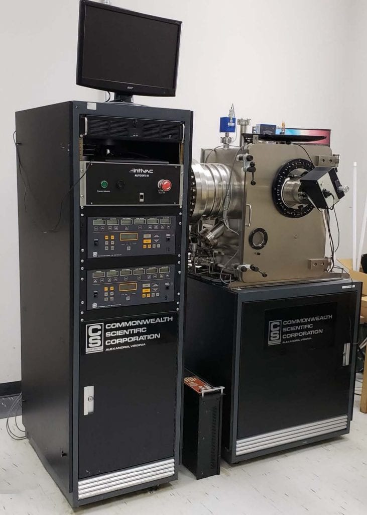 Buy Commonwealth Scientific Sputter System 60041