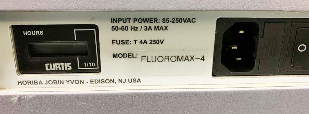 Horiba Scientific Fluoromax 4 Spectrofluorometer 60018 For Sale