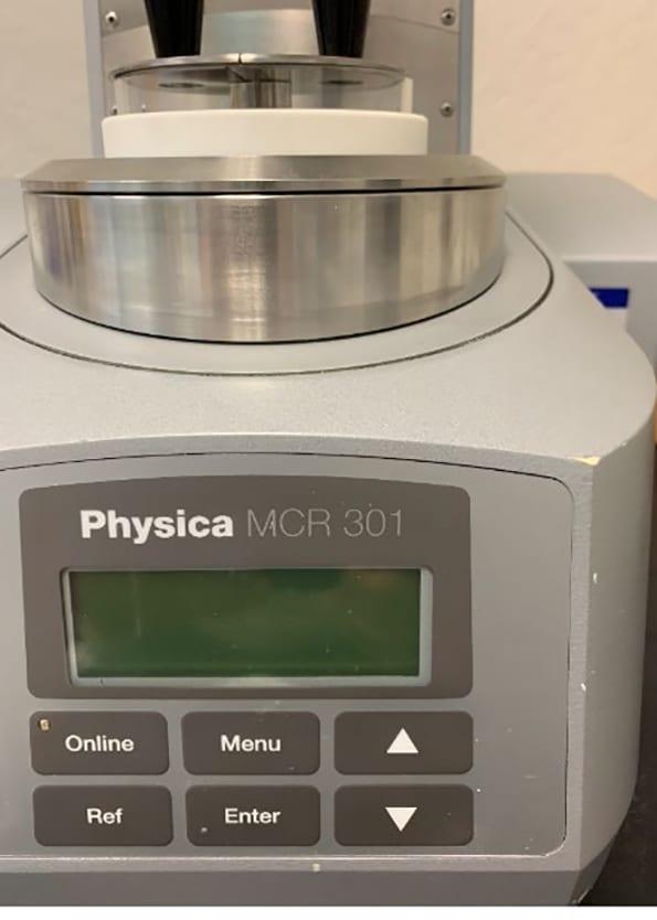 Anton Paar Physica MCR 301 Rheolometer 60021 For Sale