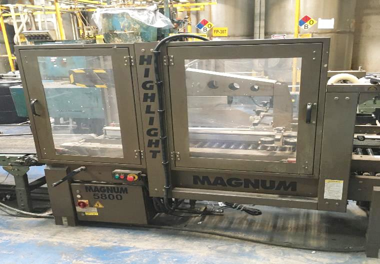 Lantech  C 2000 Tape  Automatic Case Erecting System  60127 For Sale