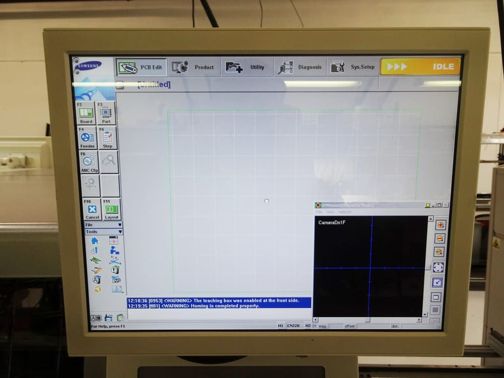 Samsung SM 482 Pick and Place Machine 59971 Image 4