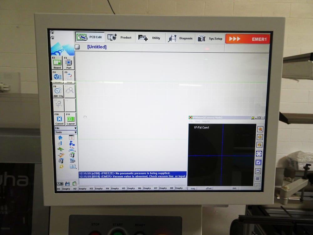 Samsung SM 481 Plus Pick and Place Machine 59972 Image 2