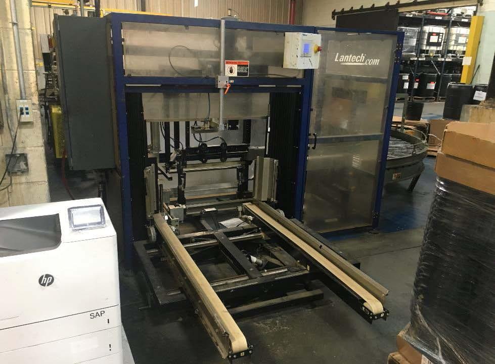 Lantech  C 2000 Tape  Automatic Case Erecting System  60127 Image 1