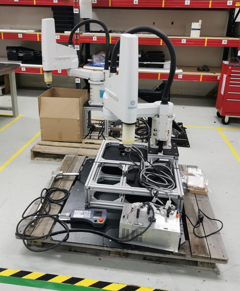 Yamaha YK 800 X High Speed Scara Robot 60024 For Sale