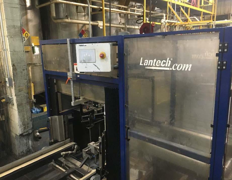 Lantech  C 2000 Tape  Automatic Case Erecting System  60127 Refurbished