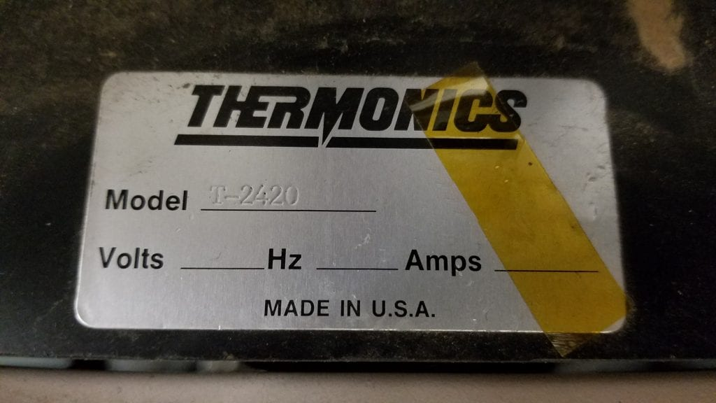 Buy Thermonics  T 2420  Precision Temperature Forcing System  60135 Online