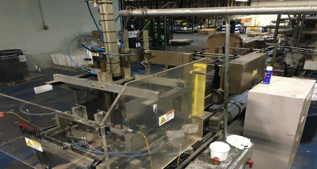 Lantech  C 2000 Tape  Automatic Case Erecting System  60127 For Sale Online