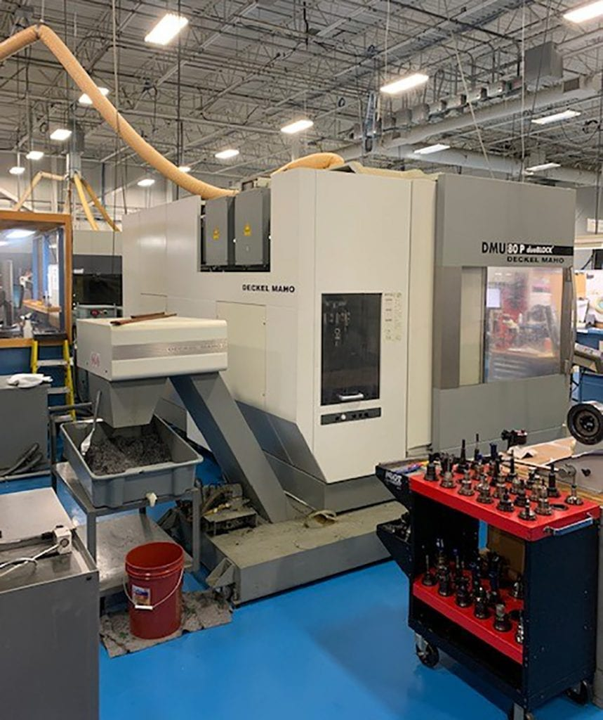 Deckel Maho  DMU 80 P  5 Axis Machining Center  60084 For Sale