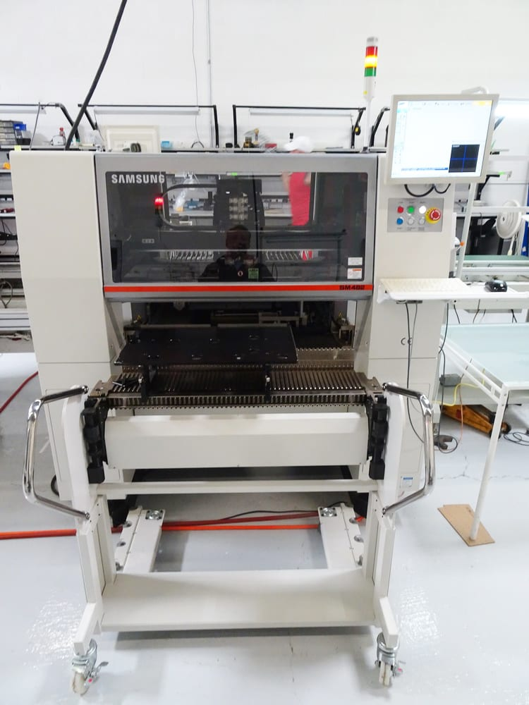 View Samsung SM 482 Pick and Place Machine 59971