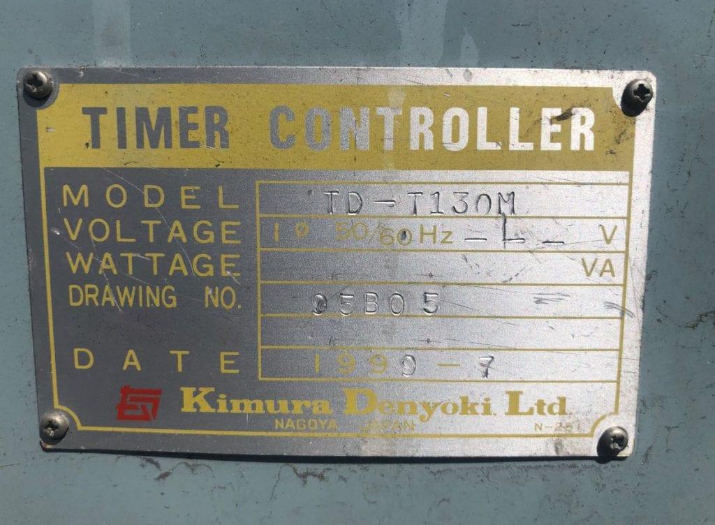 Buy Kimura Denyoki TD T 130 M Timer Controller 59964