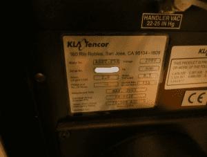 KLA Tencor  ASET F 5 X  Film Thickness  60081 For Sale