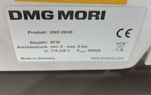 Buy DMG Mori UNO 20/40 Measurement Machine 60039 Online