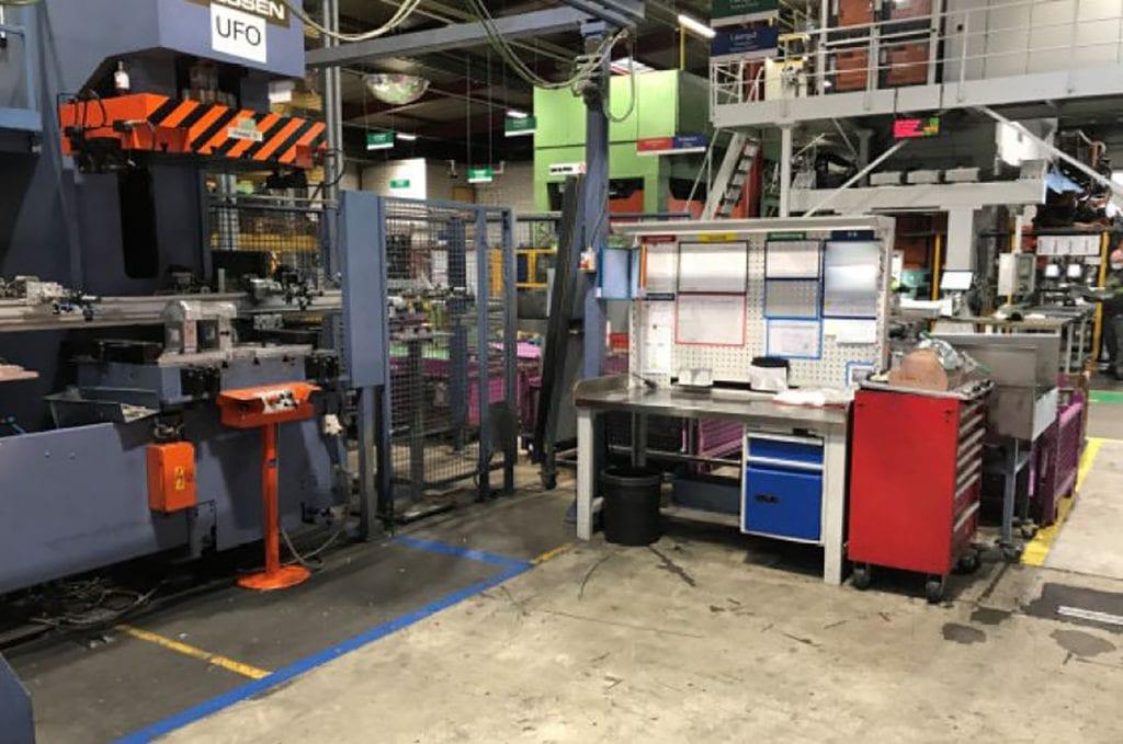 Siemens  S 5 115 U  Hydraulic Press  60146 For Sale