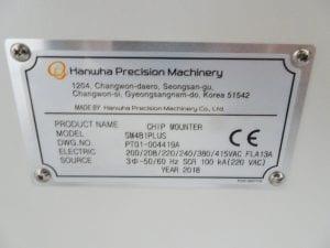 Samsung SM 481 Plus Pick and Place Machine 59972 Image 6