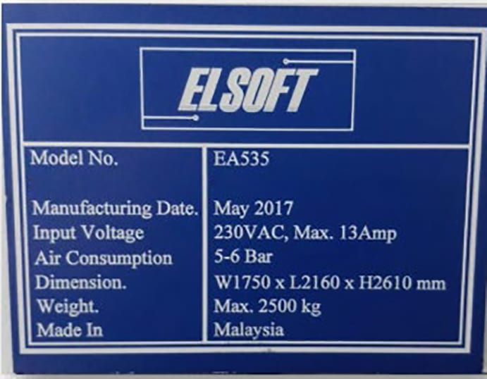 Elsoft  EA 535  Orion Tester  60143 For Sale