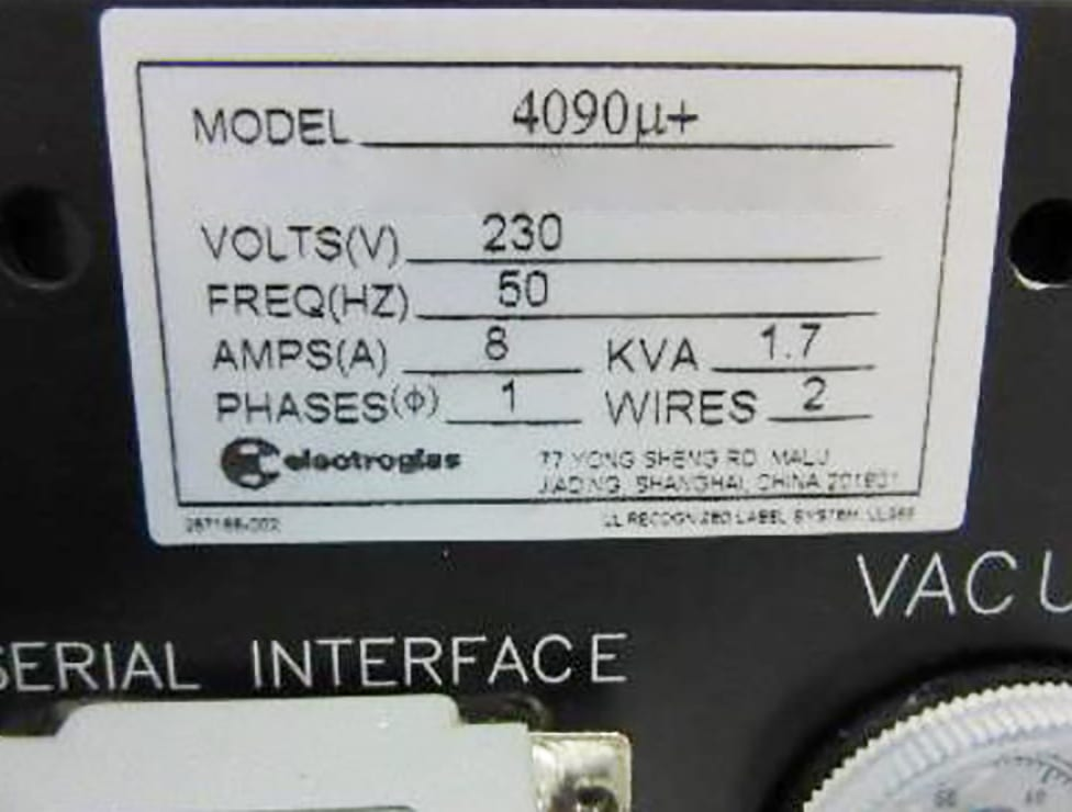 Purchase Electroglas 4090 U+ 59980