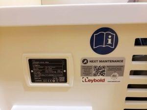 Leybold Varodry VD 65 Vacuum Pump 60054 For Sale Online