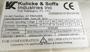 K&S  AT Premier  60105 For Sale