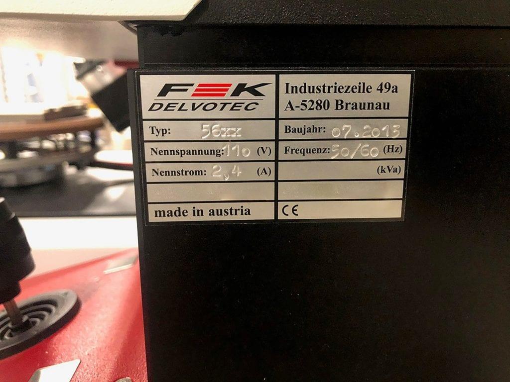 Purchase F&K Delvotec  5600 C  Auto Wire Pull/Sheer Tester  60086