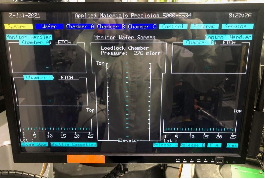 Applied Materials P 5000 Etch Tool 61304