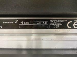 Buy Online Edge Technologies  Turbo 3 380  Bar Feeder  61395