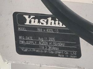 Yushin  RA II A 400 SL 13  61367 For Sale