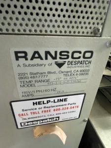 Ransco  925 1 4 D 0 120/60  Chamber  61368 For Sale Online