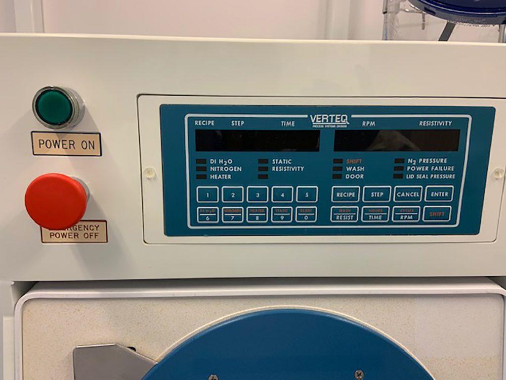 Verteq  1600 55  Spin Rinse Dryer (SRD)  61434 Refurbished