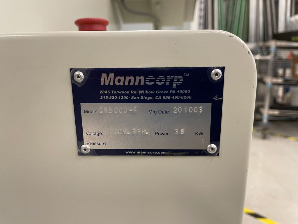 Manncorp  CR 5000 F  Reflow Oven  61378 Refurbished