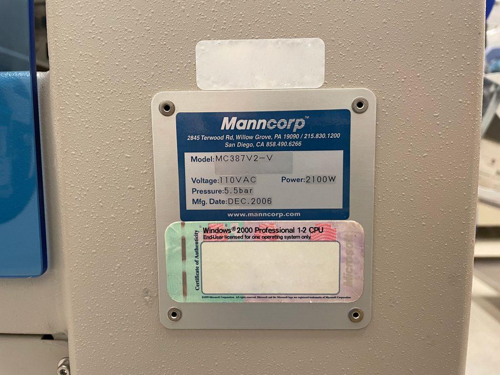 Manncorp  MC 387 V 2 V  Placer  61377 Image 14