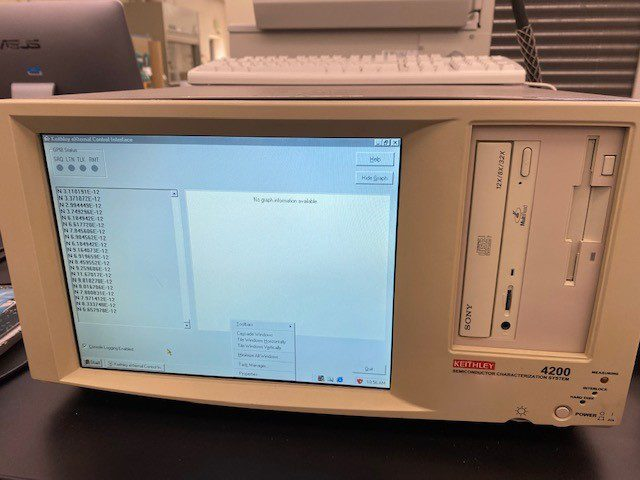 Buy Keithley 4200 Semiconductor Characterization System 61282