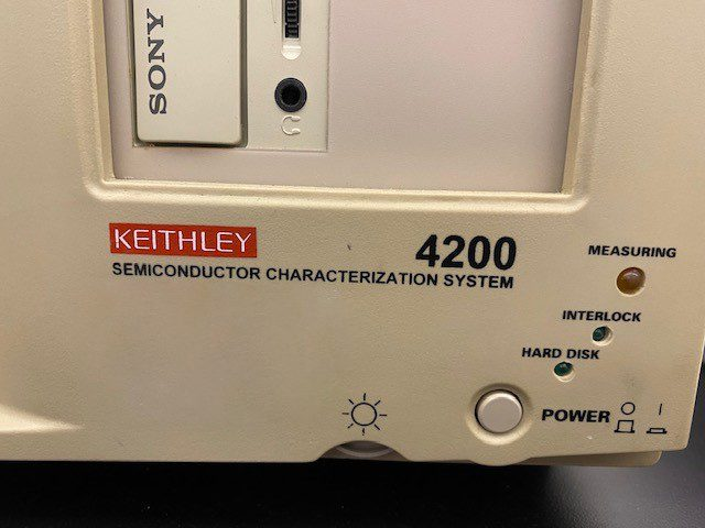 Keithley 4200 Semiconductor Characterization System 61282 For Sale