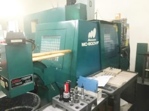 Buy Matsuura MC 800 F Mill 61336