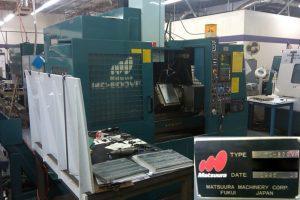 Matsuura MC 800 F Mill 61336 For Sale