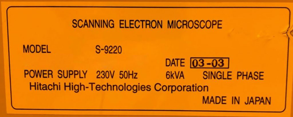 View Hitachi S 9220 Critical Dimension   Scanning Electron Microscopy (CD SEM) 61303